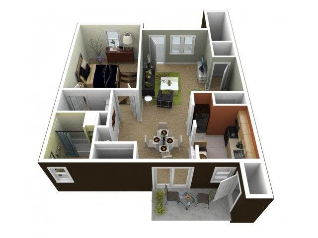 The Abington Floor Plan 1