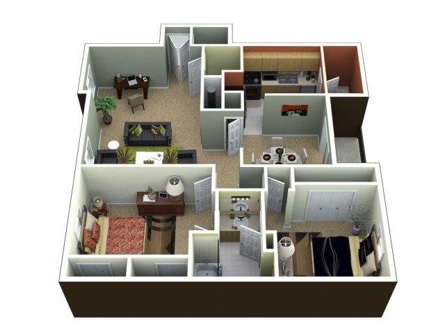 The Brighton Deluxe Floor Plan 4
