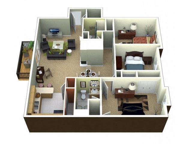 The Chelsea Floor Plan 6