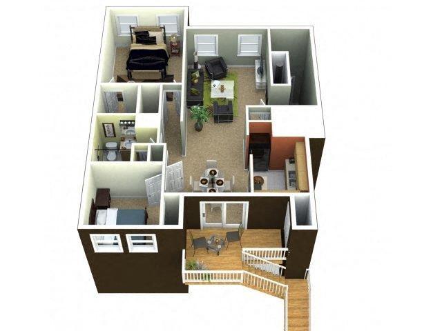 The Dunmore Floor Plan 2