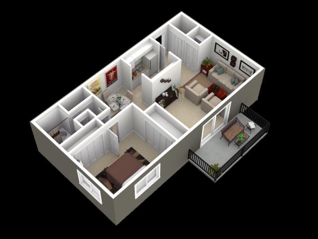 The Addison Floor Plan 1