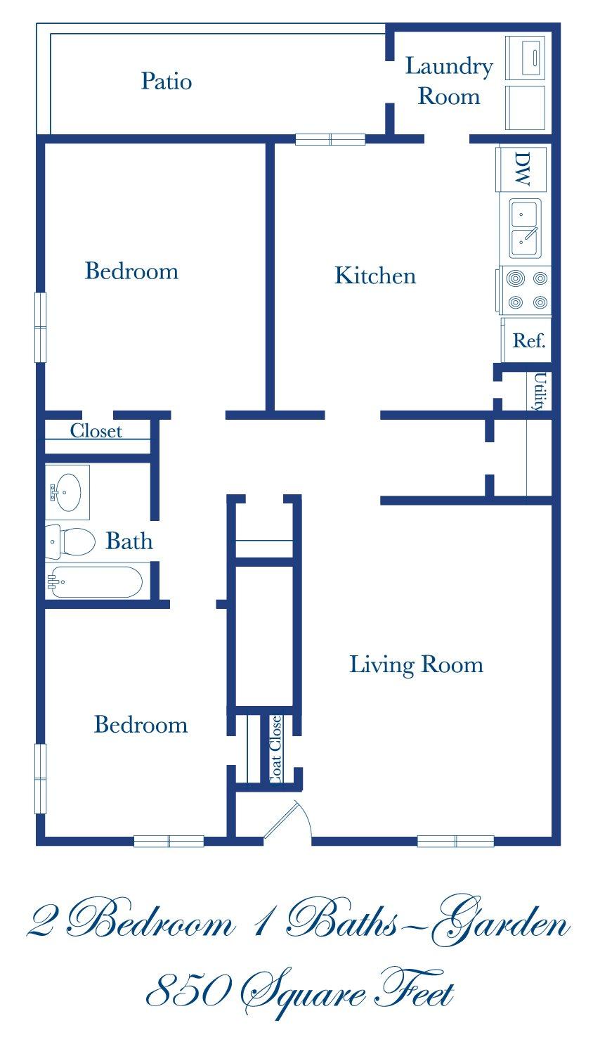 2-1 Floor Plan 1