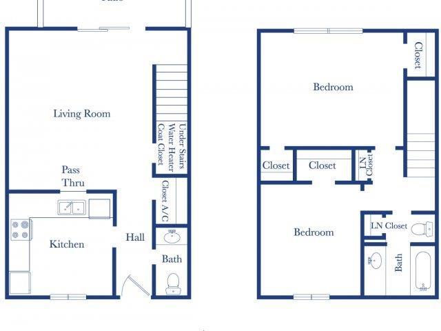 2-1.5 Floor Plan 2