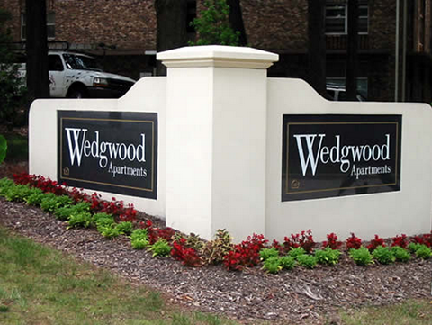 Wedgwood Apartments Sign at Wedgwood Apartments in Raleigh, NC