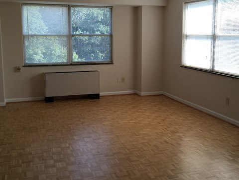 Hardwood floors at Wedgwood Apartments in Raleigh, NC