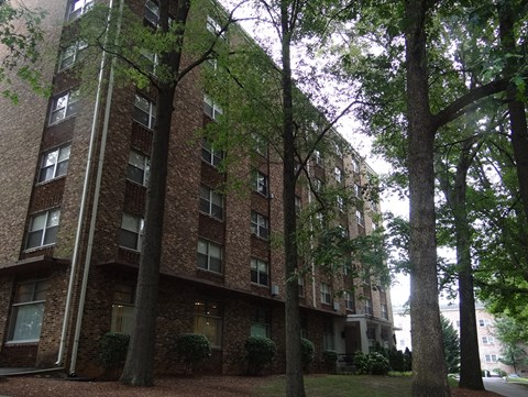 exterior at Wedgwood Apartments in Raleigh, NC