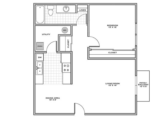 One bedroom apartments in Wilmington NC