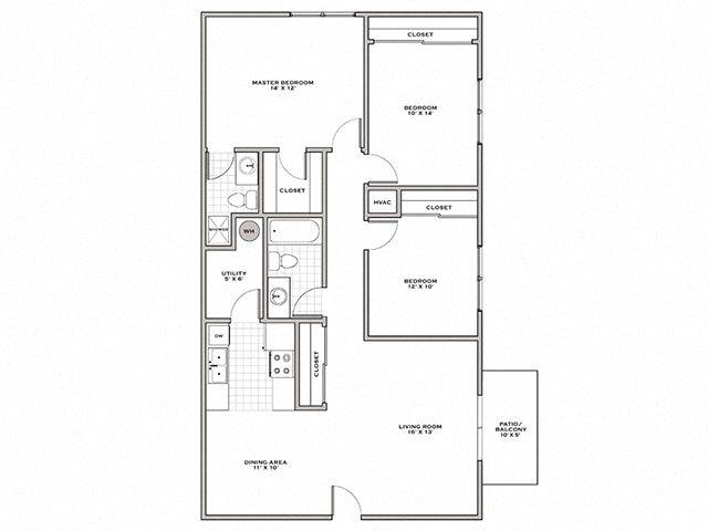 3 bedroom apartments in Wilmington NC