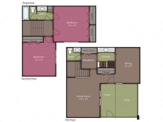 Two bedroom apartments in Wilmington NC