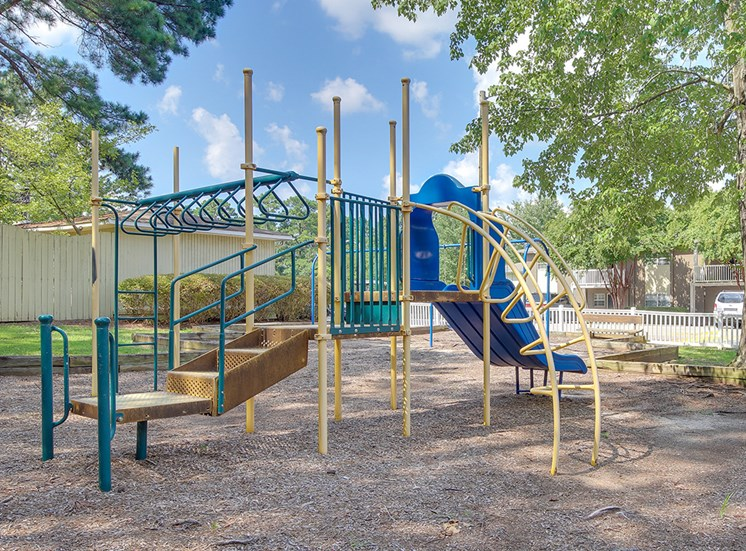 Play structure at Montecito, Raleigh, NC, 27609