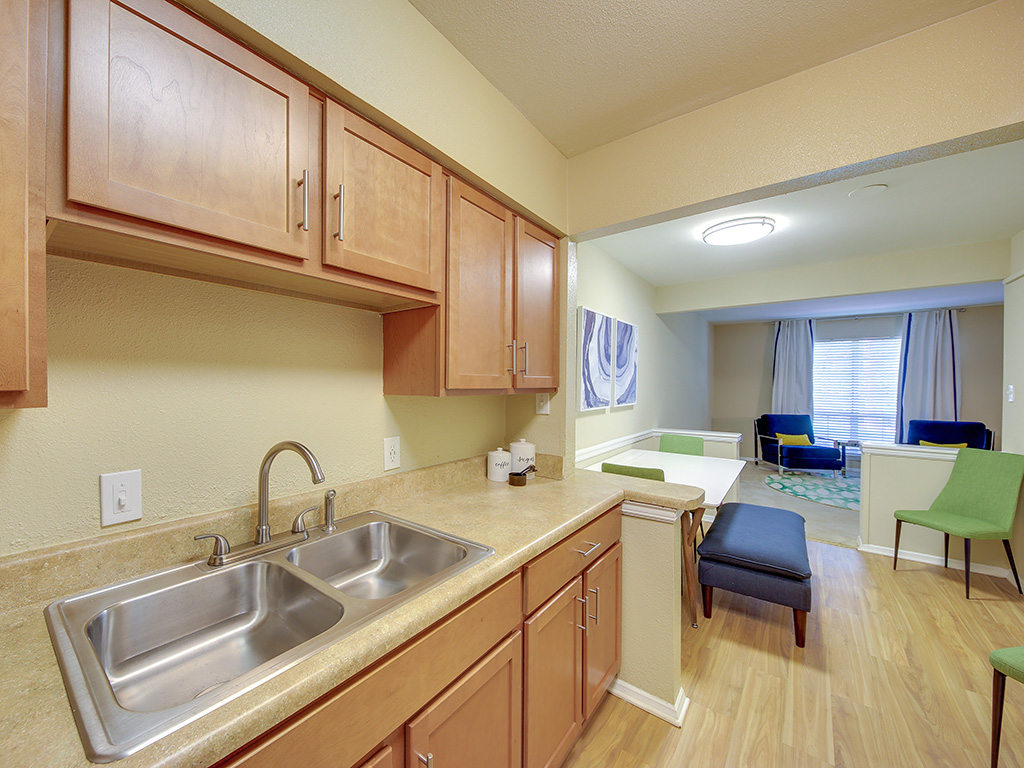 Double Stainless Steel Sink at Montecito, Raleigh, NC, 27609