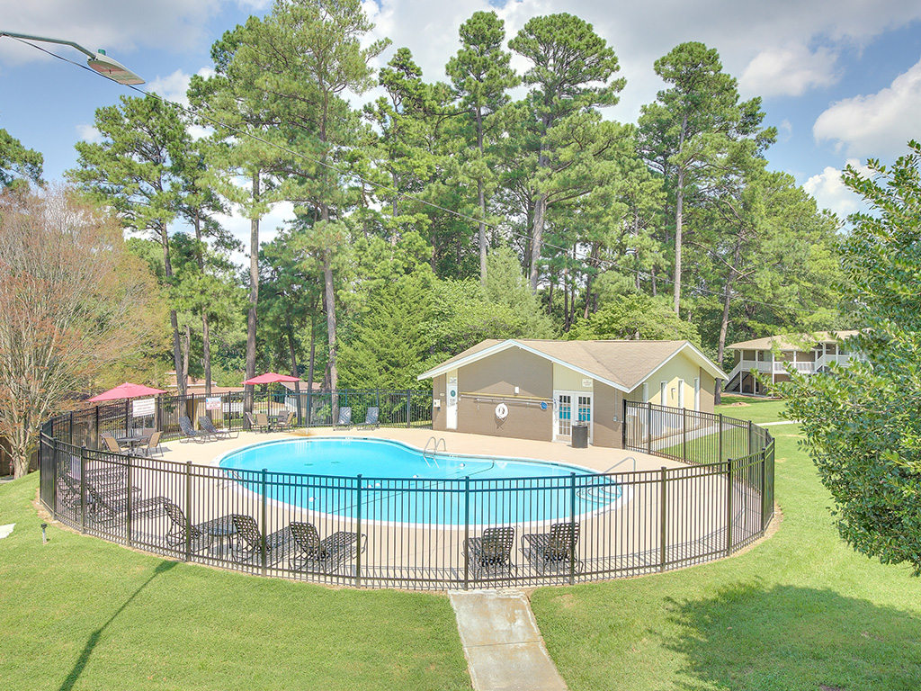 Pool Side Relaxing Area at Montecito, Raleigh, 27609
