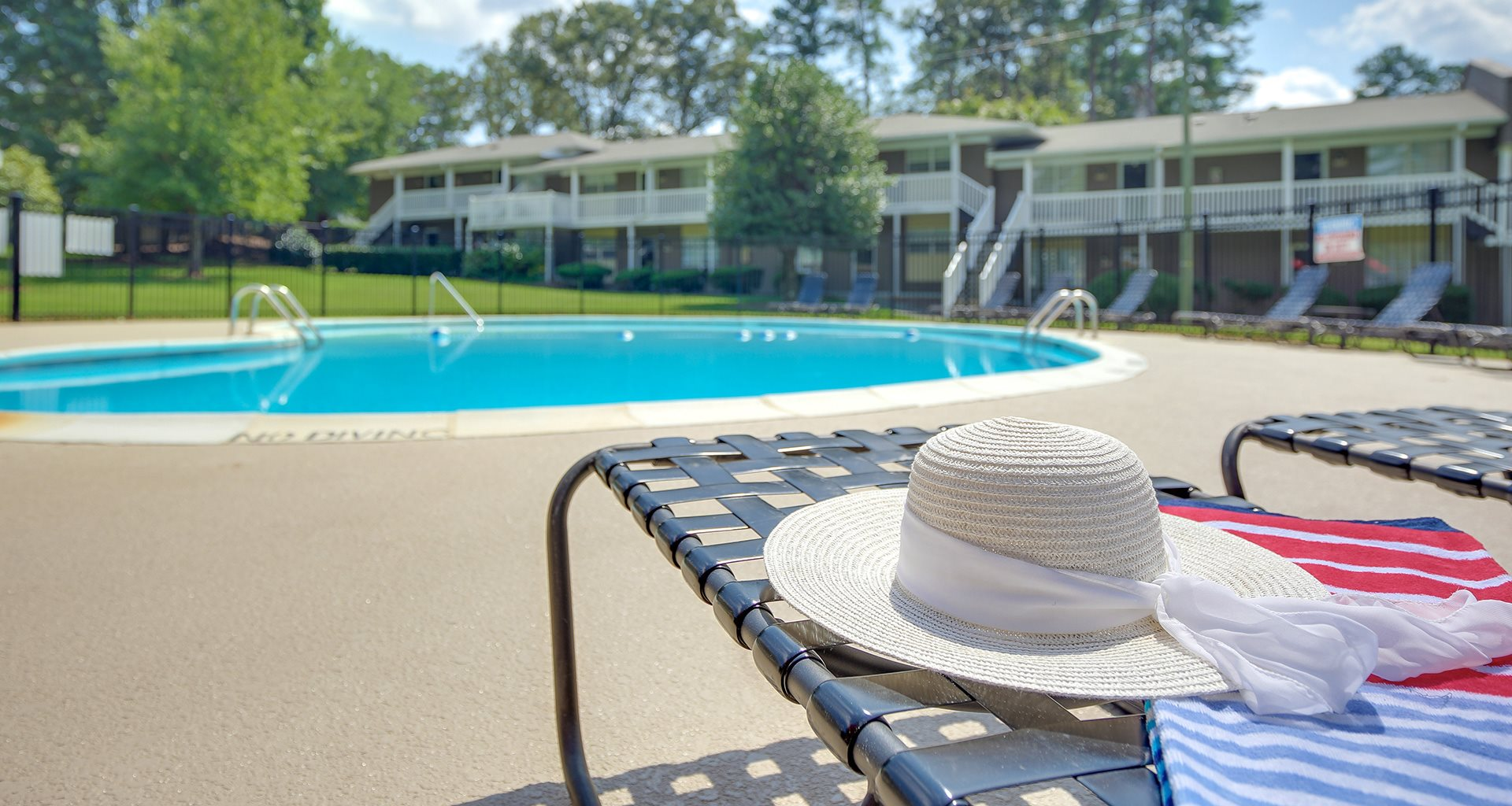3 Sparkling Swimming Pools at Montecito, Raleigh, NC