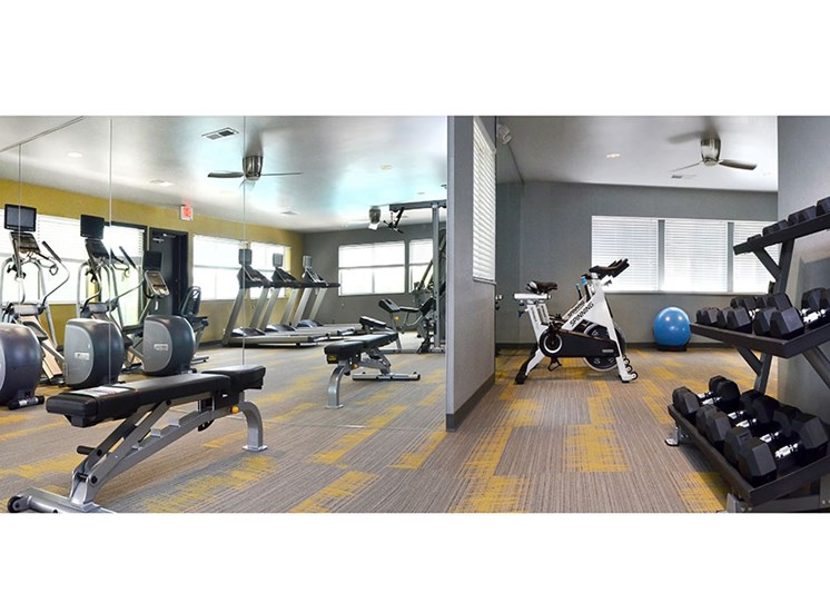 Fitness Center at Chimney Top Apartments in Antioch