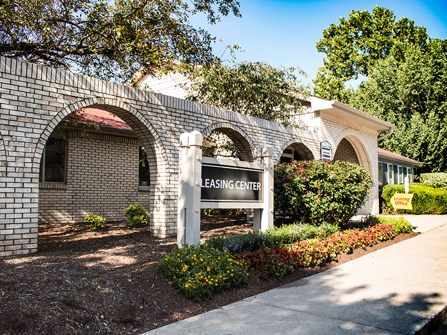 Leasing Center at Chimney Top Apartments in Antioch TN