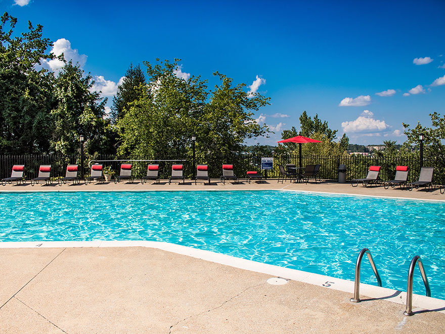 Pool at Chimney Top Apartments in Antioch TN