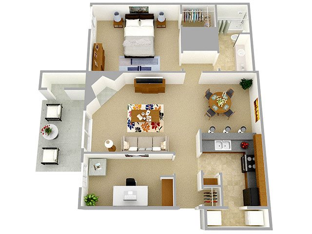 Inglenook floor plan.