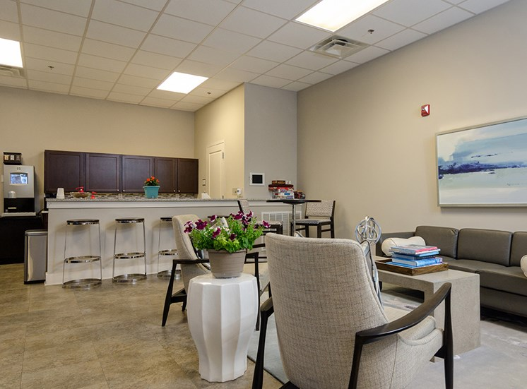 City Block Apartments in Wilmington NC Clubroom