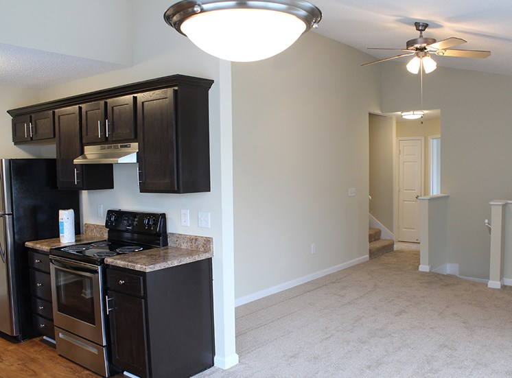 Kitchen 4 at Flintlake Apartments in Myrtle Beach SC
