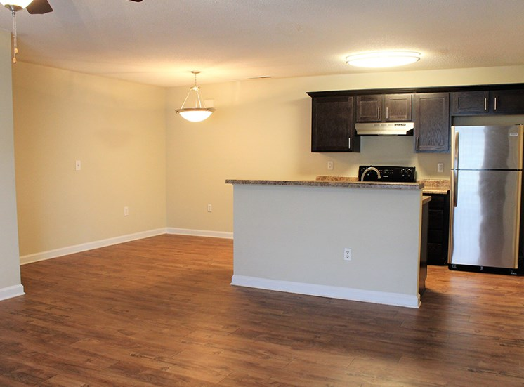 Kitchen 3 at Flintlake Apartments in Myrtle Beach SC
