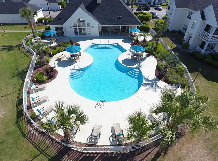 Pool  at Flint Lake Apartments in Myrtle Beach SC