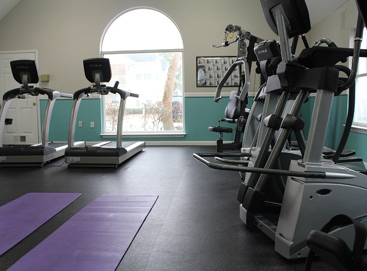 Flintlake Apartments Fitness Center equipment
