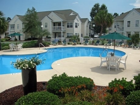 pool at apartments for rent in Myrtle Beach SC