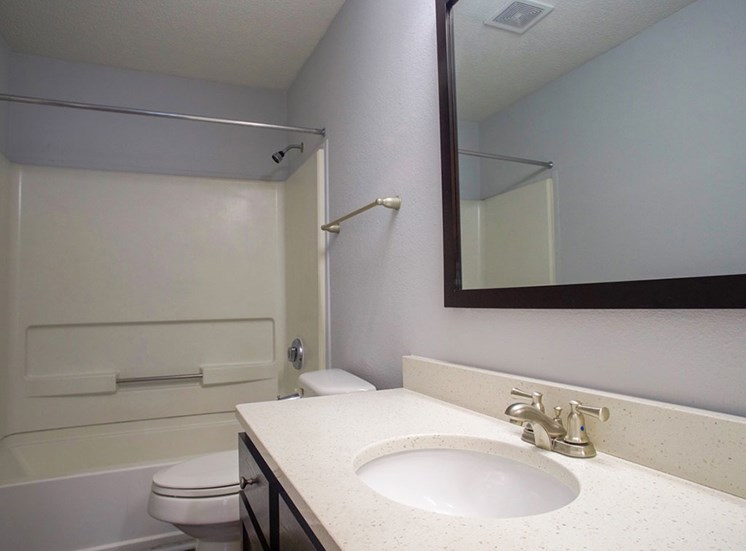 Bathroom at Flintlake Apartments
