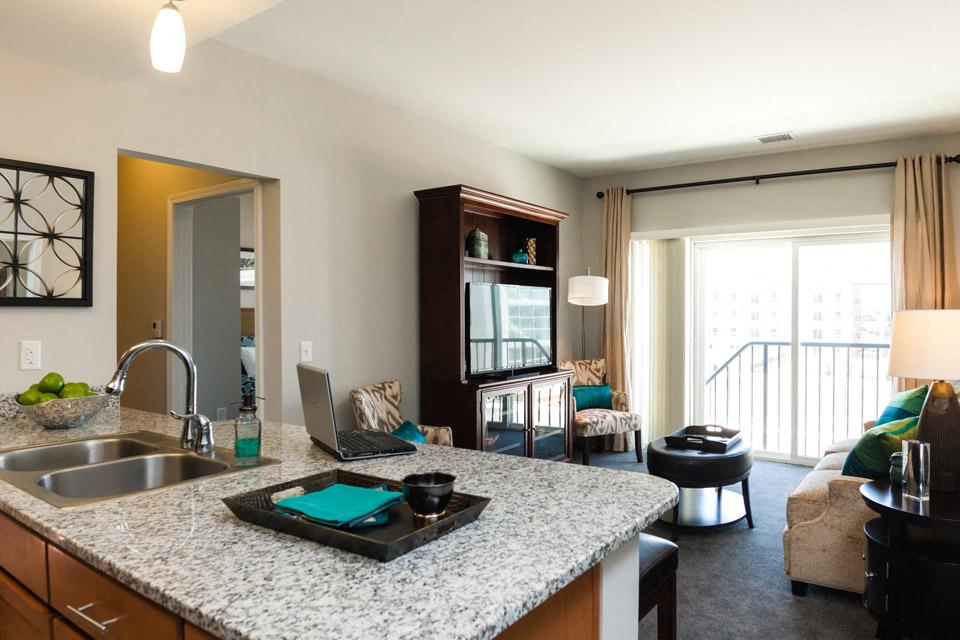 open floor plans at Liberty Apartments in Newport News VA