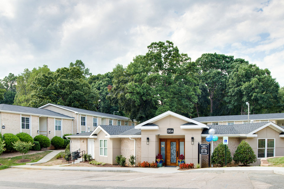 Montecito West Apartments office in Raleigh NC