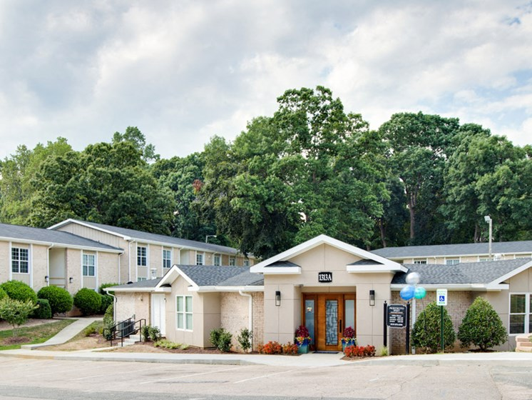 Montecito West Apartments office at Montecito West, Raleigh, NC