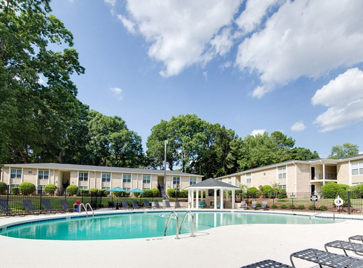 Montecito West Apartments Pool in Raleigh NC