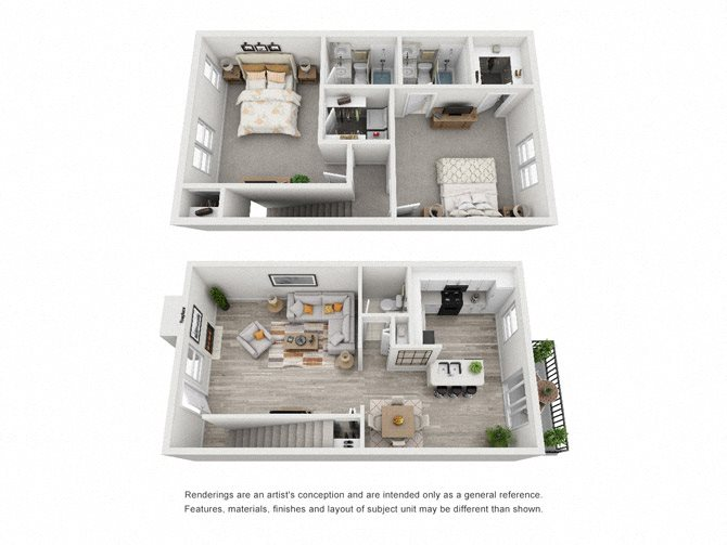 Windsor 2-2.5 TH Floor Plan 6