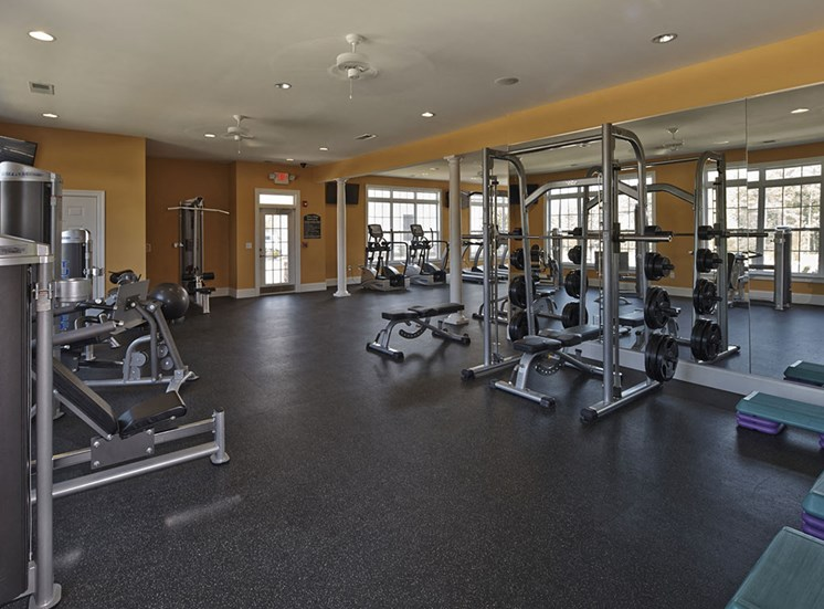 Tylers Ridge at Sandhills Apartments Gym Equipment