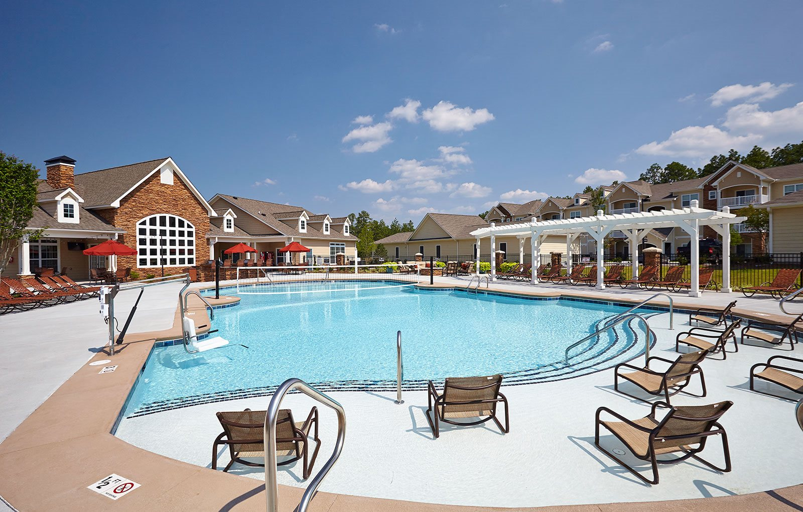 Pool at Tyler's Ridge Apartments