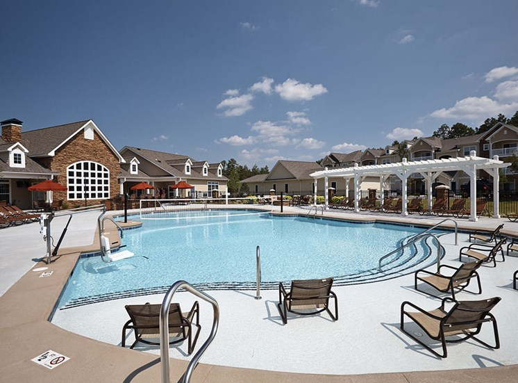 Pool  at Tylers Ridge at Sandhills Apartments
