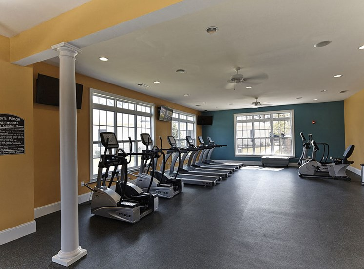 Gym at Tylers Ridge at Sandhills Apartments