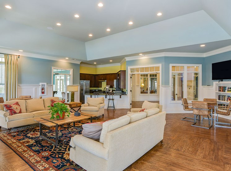 interior of Amelia-Station-Apartments-Clayton-NC-Clubhouse