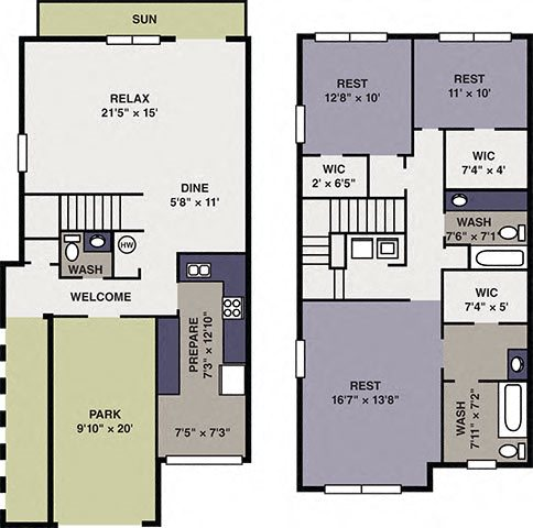 Forget-Me-Not (TH with Garage) Floor Plan 10