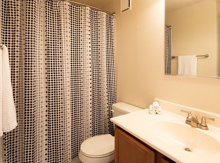 bath at Brookdale Apartments