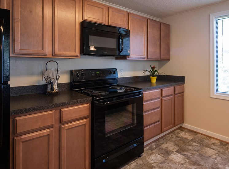 Kitchen at Brookdale Apartments in Henrico VA 1