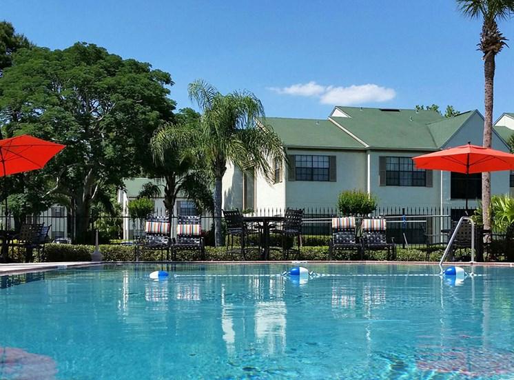 Pool at Cypress Run Apartments