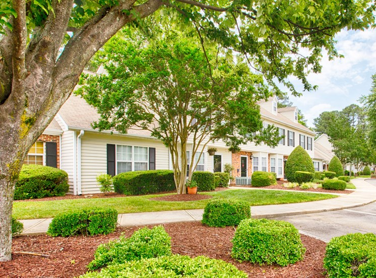 Exterior or Fairgate Apartments in Raleigh NC