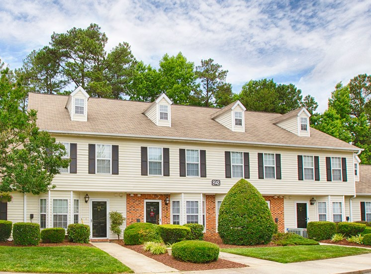 Exterior of Fairgate Apartments  in Raleigh NC