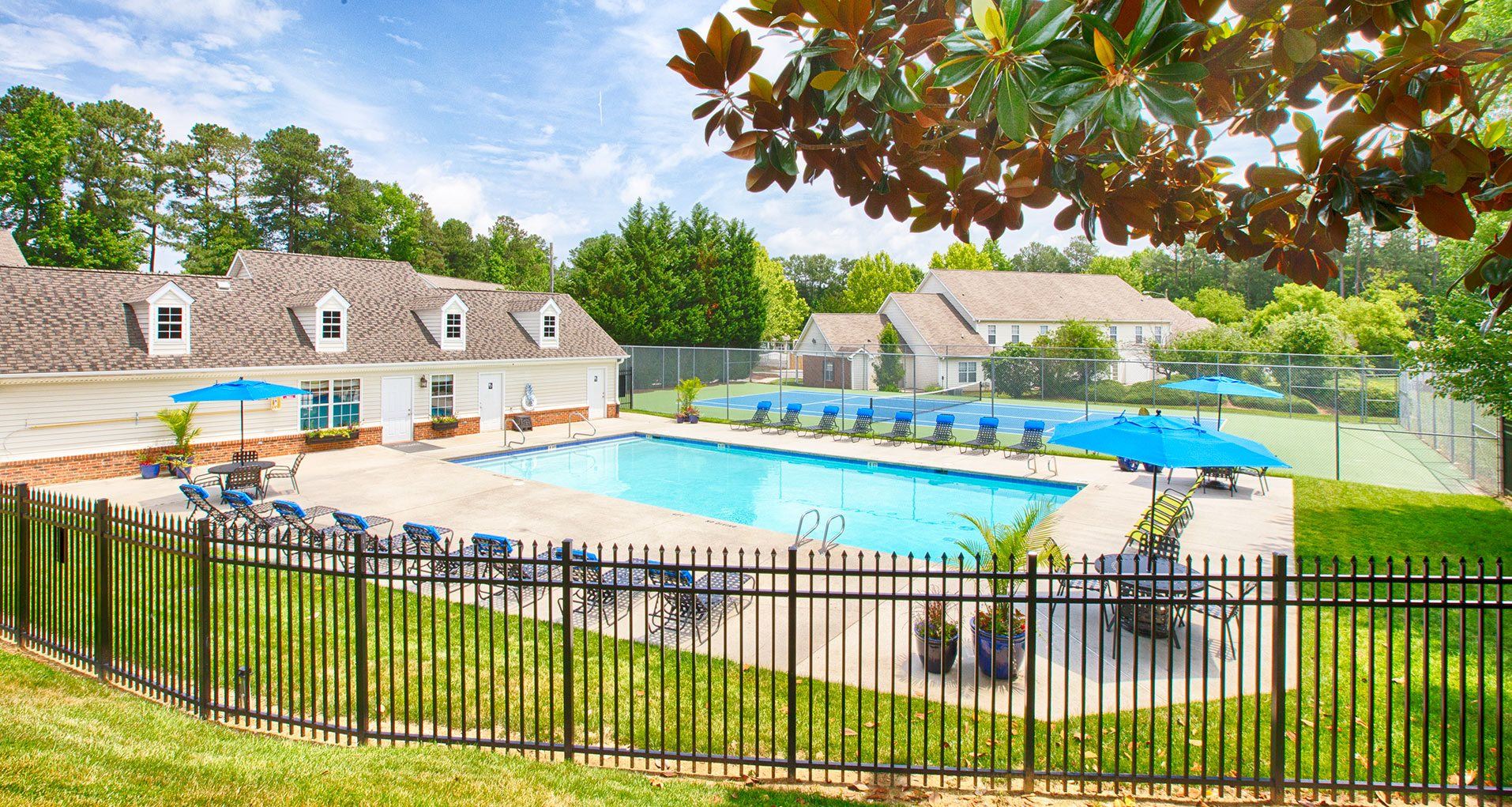 Fairgate Apartments Fence and Pool