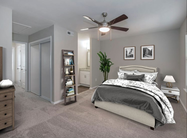 Fairgate Townhome Rental Bedroom