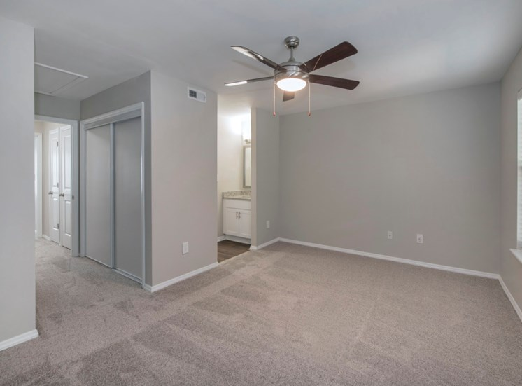 Renovated Bedroom at Fairgate Apartments