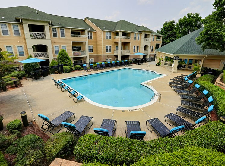 Pool at Mayfaire Apartments in Raleigh NC