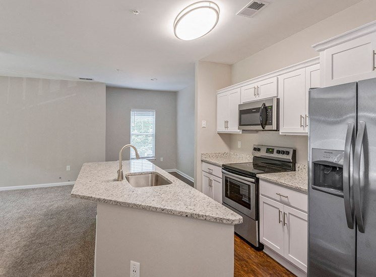 Kitchen at Mayfaire Apartments in Raleigh