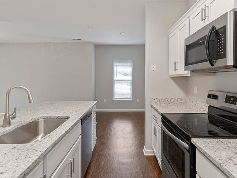 Newly Renovated Kitchens at Mayfaire Apartments